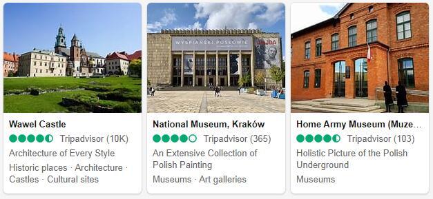 Krakow Attractions