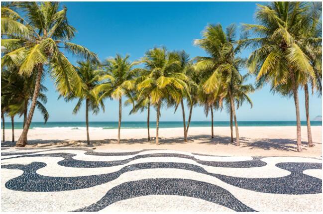 The beaches of Rio de Janeiro
