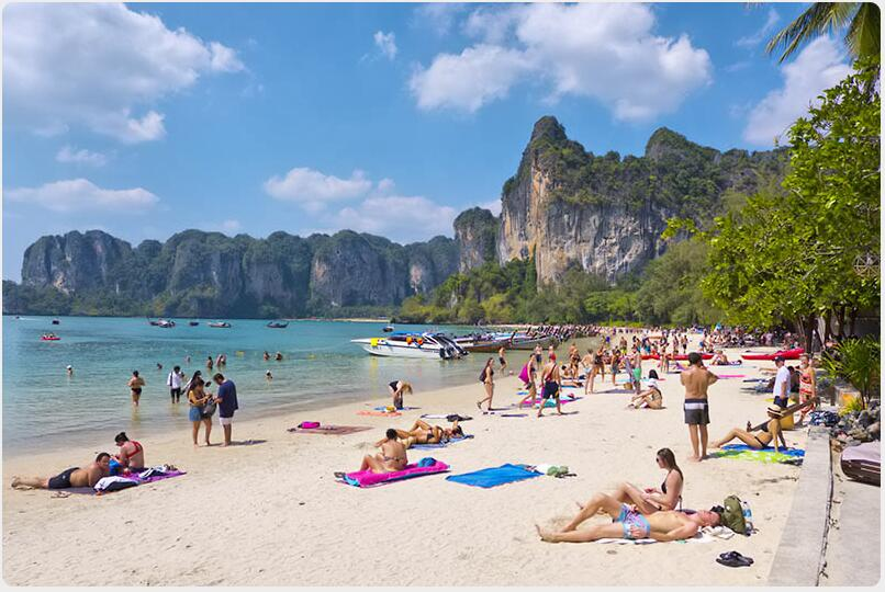 Railay's beaches are great and their scenery is stunning