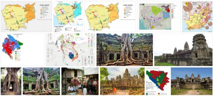 Cambodia Ethnic structure