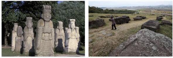 Stone Tombs in Korea